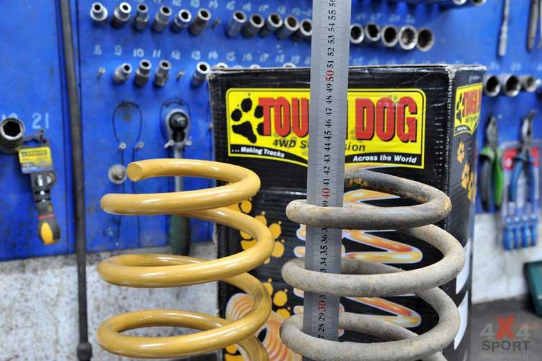 Насколько просаживаются пружины Tough Dog со временем?