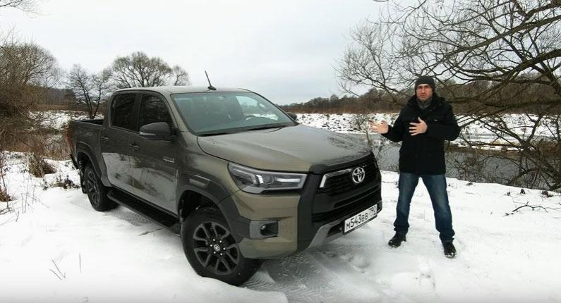 Комфорт плюс тест обновленного Toyota Hilux, сравниваем с дорестайлом