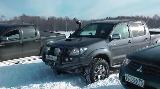 Test Toyota Hilux 2012